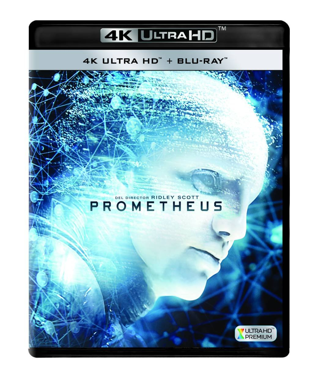 Prometheus Blu-Ray Uhd [Blu-ray]