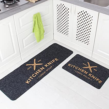 Kitchen Rugs DWW Tappetini per Cucina Pantofole Domestico ...