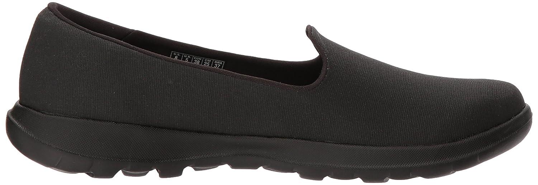 Skechers Women's Go Walk Lite-15411 Loafer Flat B071GVH733 8 B(M) US Black