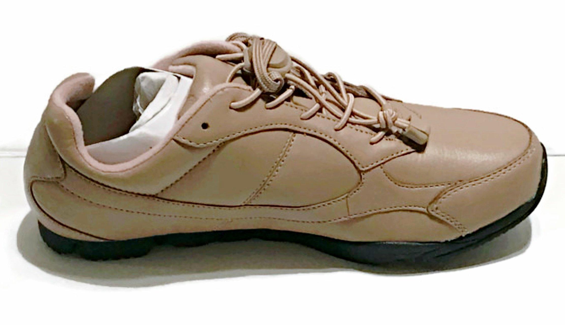 Dr. Comfort Women's Amy Taupe Flex OA Athletic Shoes - Size 9M/W