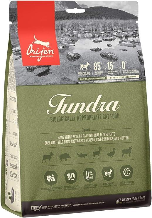 Orijen Pienso Gatos Tundra Cat - 340GR: Amazon.es: Productos para ...