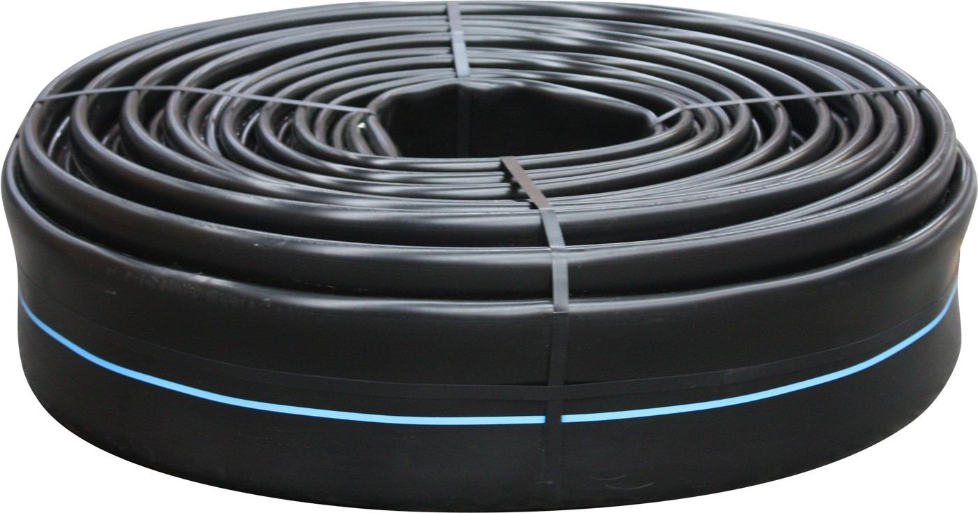 Toro 4'', 130', 21 psi, Blue Stripe Oval Hose - ELD101100-013, Plastic