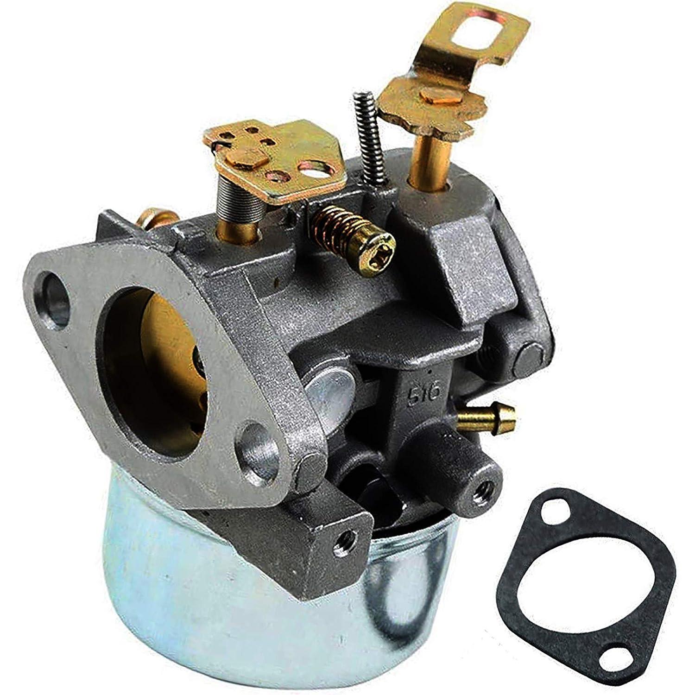 PROCOMPANY Tecumseh Carburetor for HMSK85-155905A HMSK85-155905B HMSK85-155905C OEM 640052 MFG 5313 5002 5036 Stens 520-926 Oregon 50659 John Deere AM108405 MIA11319
