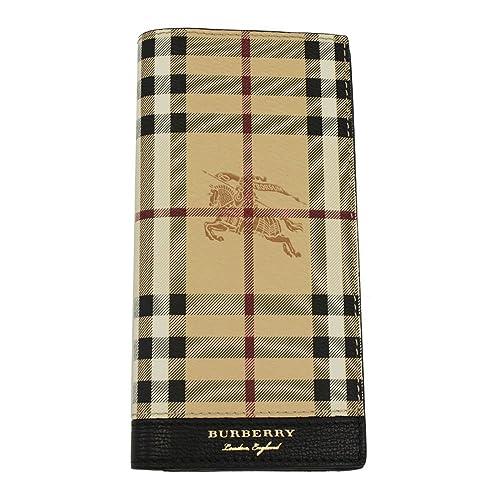 Burberry monedero cartera bifold de hombre en piel nuevo Continental Cavendish n: Amazon.es: Zapatos y complementos