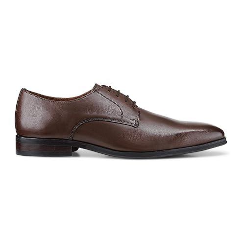 Belmondo Herren Herren Business-Schnürschuh aus Leder, Derby-Schnürer in  Braun mit rutschhemmender Sohle  Belmondo  Amazon.de  Schuhe   Handtaschen 485d0b7bed