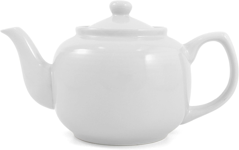 Amsterdam 6-Cup Teapot, White
