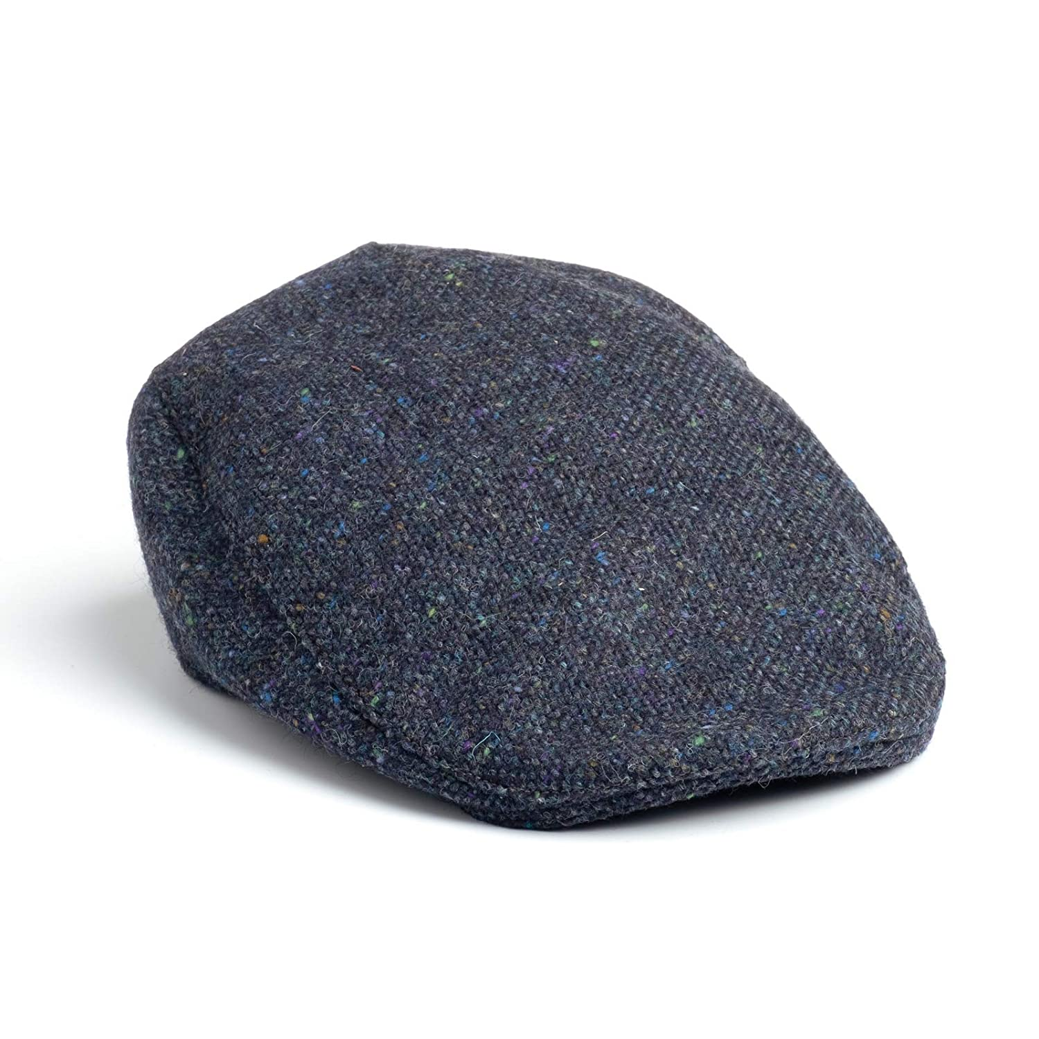 0507969bd55 Hanna Hats Men s Donegal Tweed Donegal Touring Cap at Amazon Men s Clothing  store