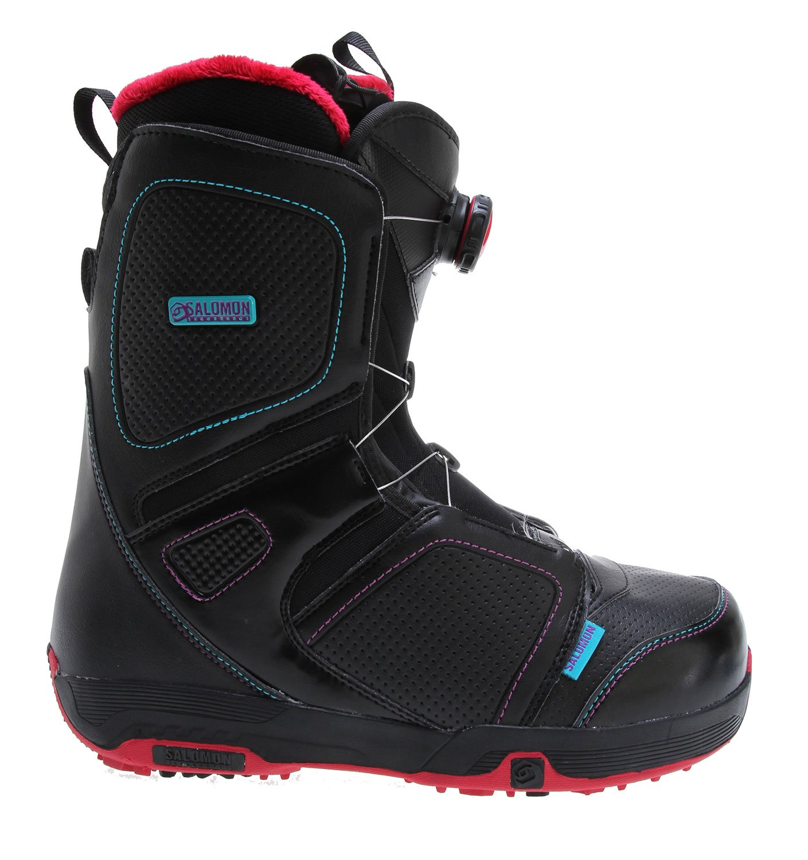 Salomon Pearl Boa 1213 Botas de snowboard para mujer