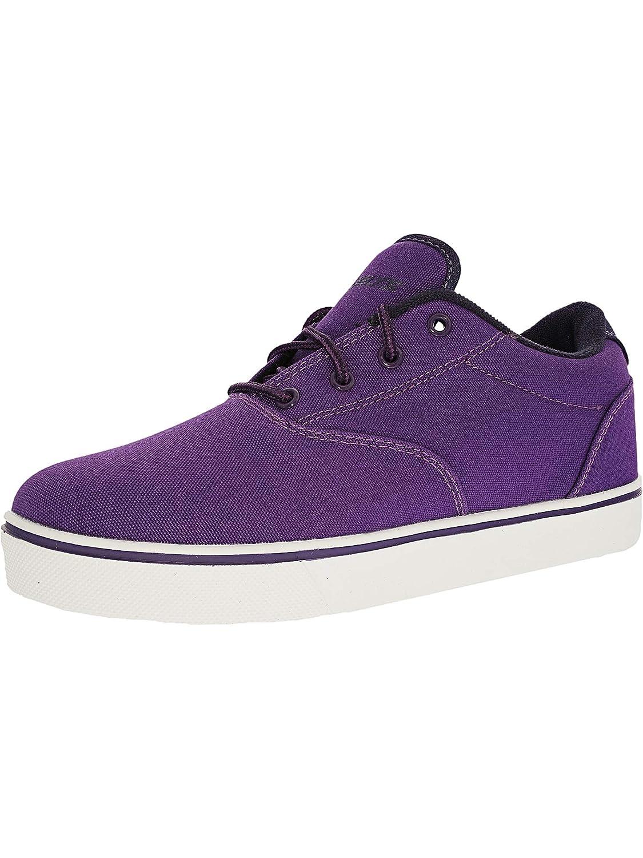cb79a0173eef9 Amazon.com | Heelys Unisex Launch (Little Kid/Big Kid/Adult)  Purple/Grape/White Roller Skate | Fashion Sneakers