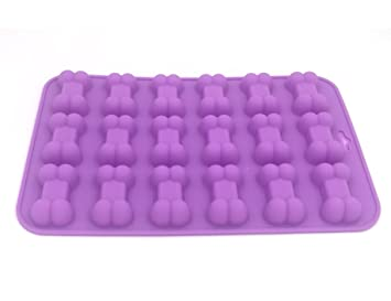 Casa necesidad de silicona de grado de alimentos molde, non-stock cubo de hielo, gelatina, galletas, chocolate, candy, de utensilios para hornear molde: ...