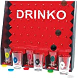 Home Essentials & Beyond Funville Drinko Shot Set Game, Clear