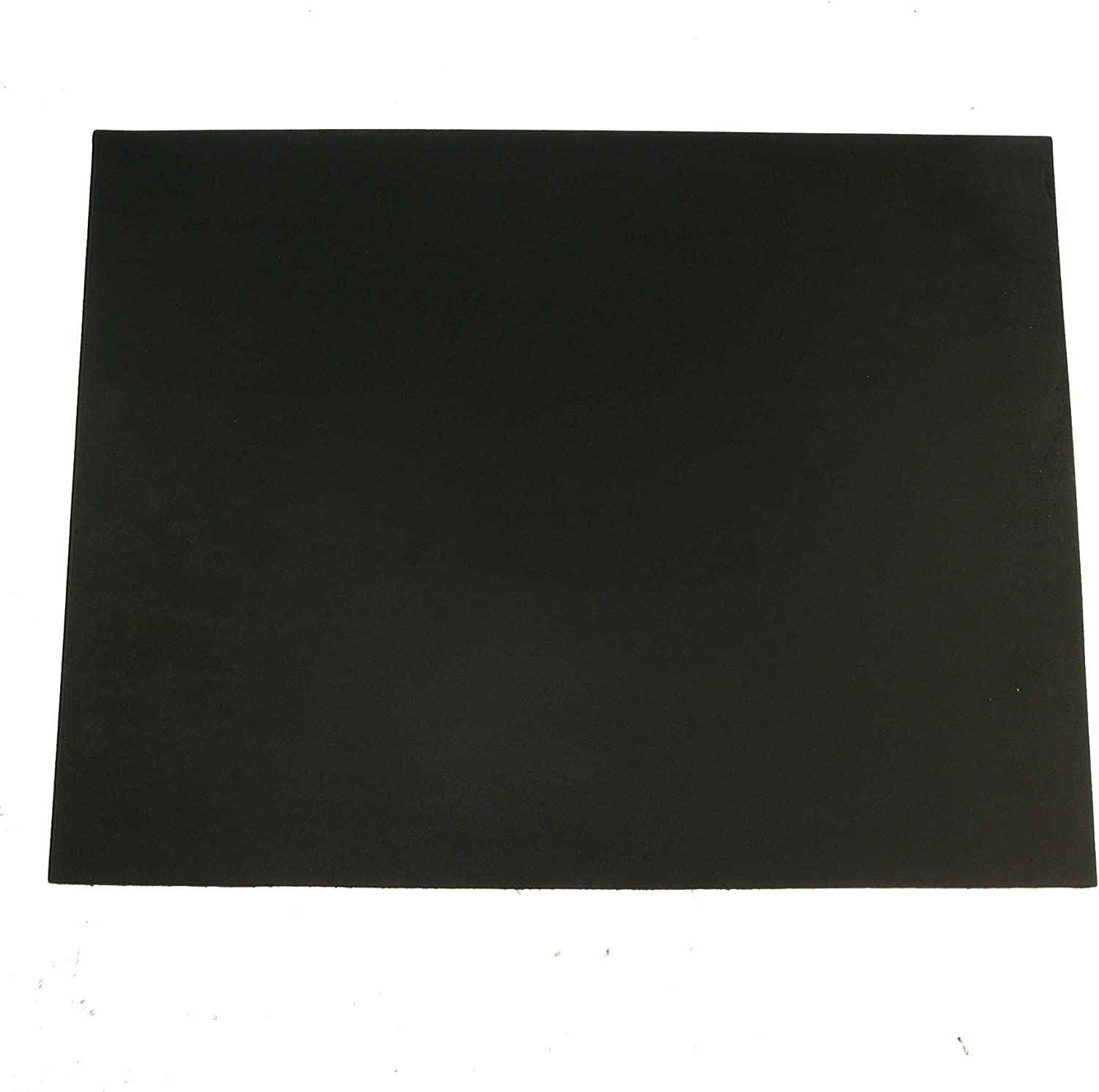 Black Vegetable Tan Cowhide Tooling Leather 4-5oz Pre-Cut Project Piece 8.5x11
