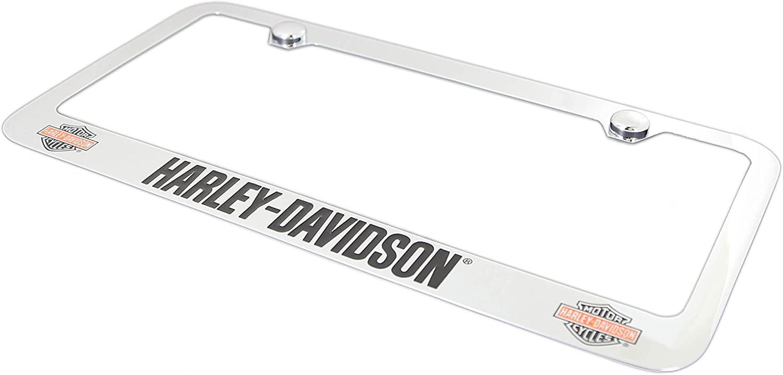 Harley-Davidson Color Bar /& Shield With HD Wordmark License Plate Frame Holder Baronlfi