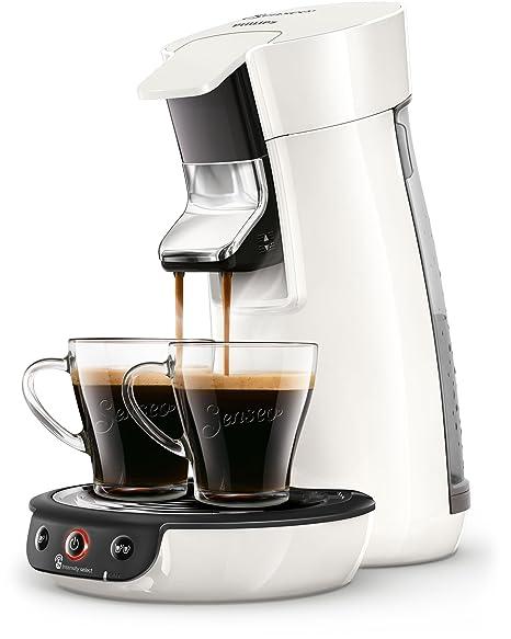 Senseo Viva Café HD6563/00 - Cafetera (Independiente, Máquina de café en cápsulas, 0,9 L, Dosis de café, 1450 W, Blanco)