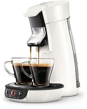 Senseo Viva Café HD6563/00 - Cafetera (Independiente, Máquina de café en cápsulas, 0,9 L, Dosis de café, 1450 W, Blanco): Amazon.es: Hogar