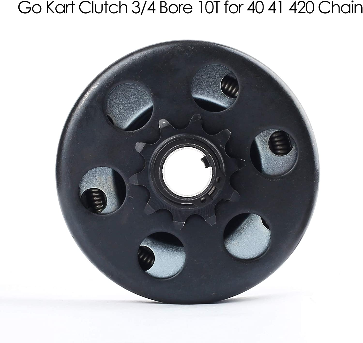 """3//4/"""" Bore Chain 40,41,420 Details about  /Go Kart Centrifugal Clutch 10 Tooth"""
