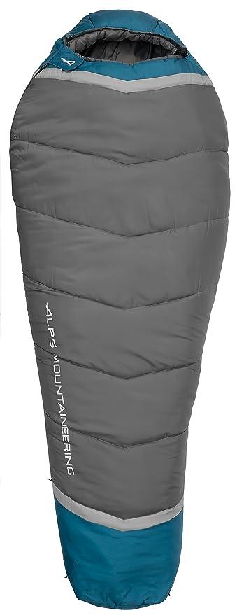 Alpes alpinismo Blaze 0 grados momia saco de dormir, Blue Coral/Coal, X
