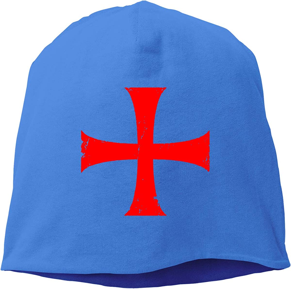 Distressed Crusader Knights Templar Cross Helmet Liner Thin Skull Cap Beanie Hip Hop Hat