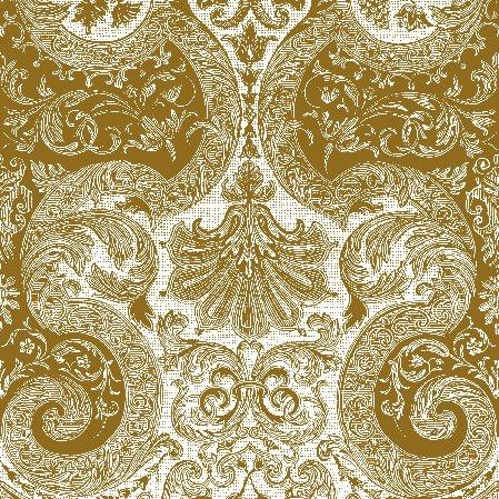 Wedding Paper Luncheon Napkins Fairy Ornament Gold 2x20pcs