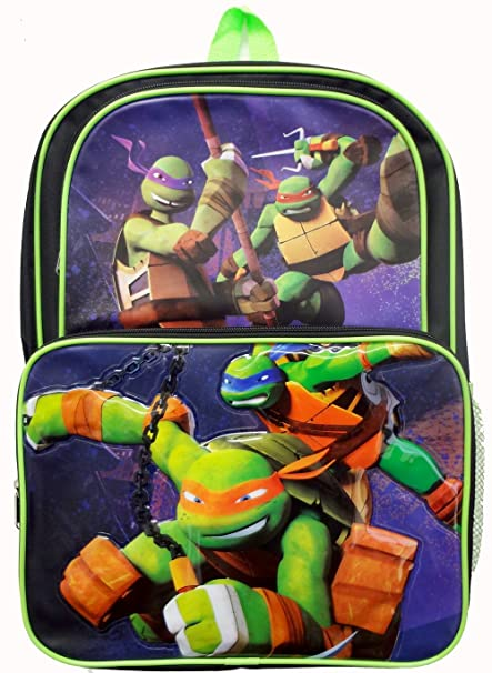 Image Unavailable. Image not available for. Color  Teenage Mutant Ninja  Turtles 16 quot  Large Cargo Backpack School Bag 4c5b6026da181