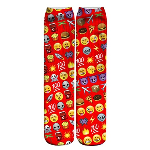 Doxi 3D Emoji Models Harajuku Wild Calcetines Stockings Personality Style
