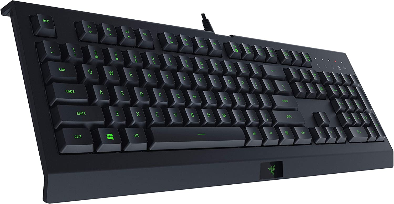 Razer Cynosa Lite Gaming Keyboard: Customizable Single Zone Chroma RGB Lighting - Spill-Resistant Design - Programmable Macro Functionality - Quiet & Cushioned