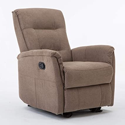 Astonishing Amazon Com Modern Fabric Recliner Chair Home Theater Single Pdpeps Interior Chair Design Pdpepsorg