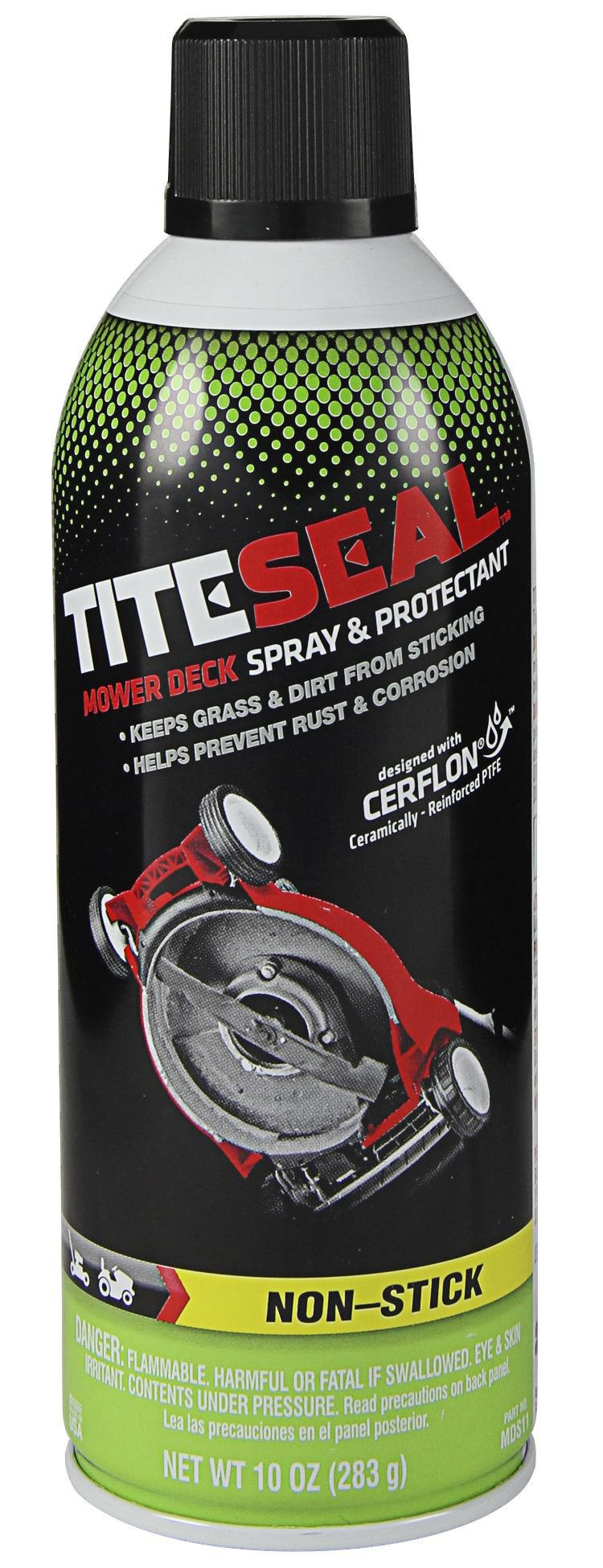 Tite-Seal MDS11/6-6PK Mower Deck Spray and Protectant 60. Fluid_Ounces, 6 Pack by Tite-Seal (Image #1)
