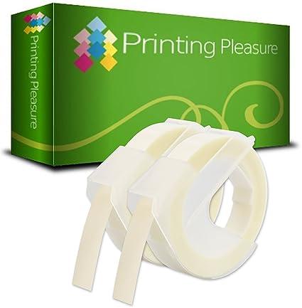 2-Pack Etiquetas de estampación 3D autoadhesivas Blanco ...