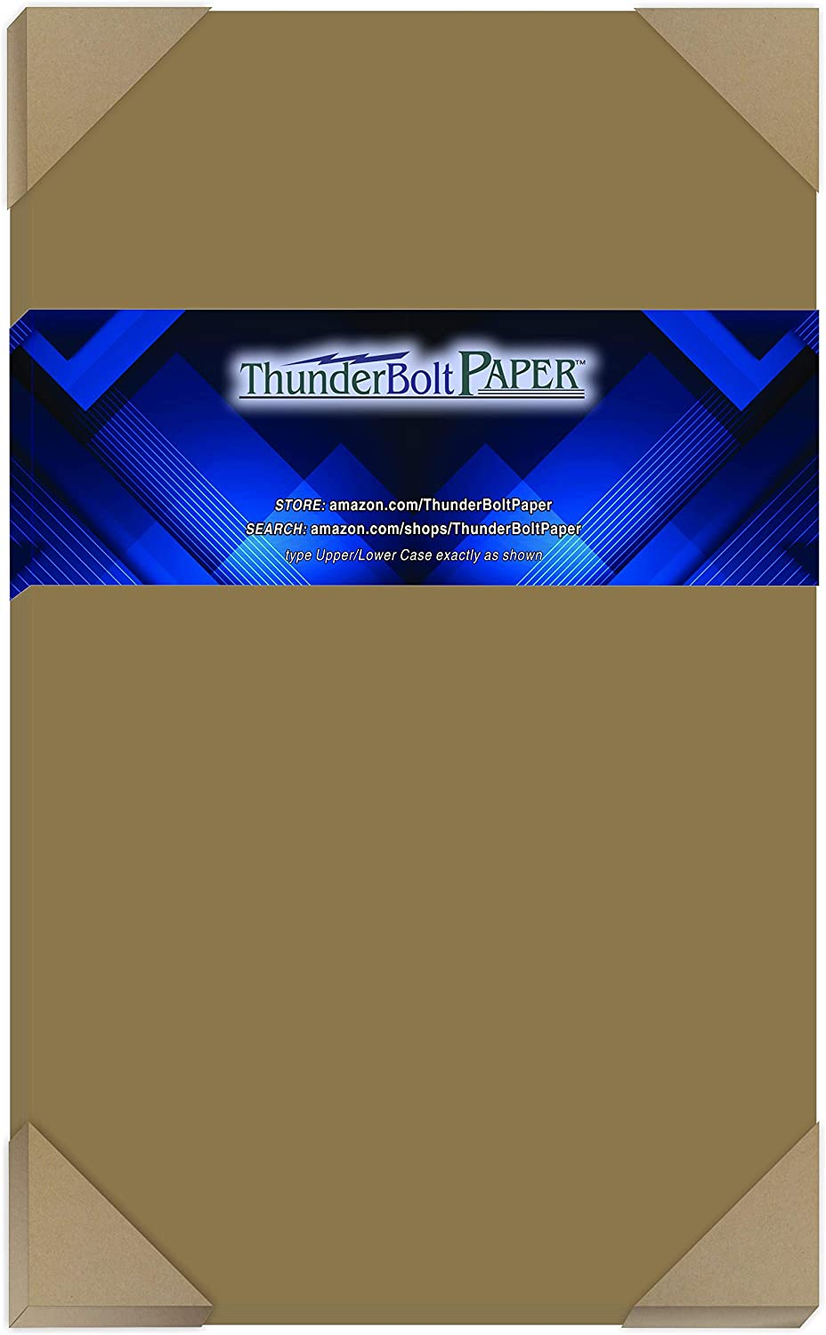 "100 Sheets Chipboard 46Pt (Point) 8.5"" X 14"" (8.5X14 Inches) Legal