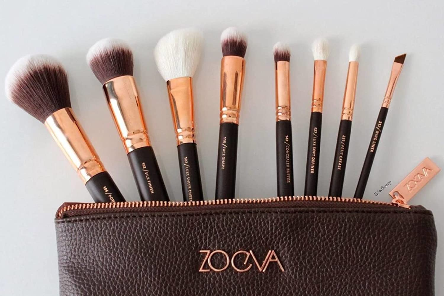 Zoeva Rose Gold Luxury Set