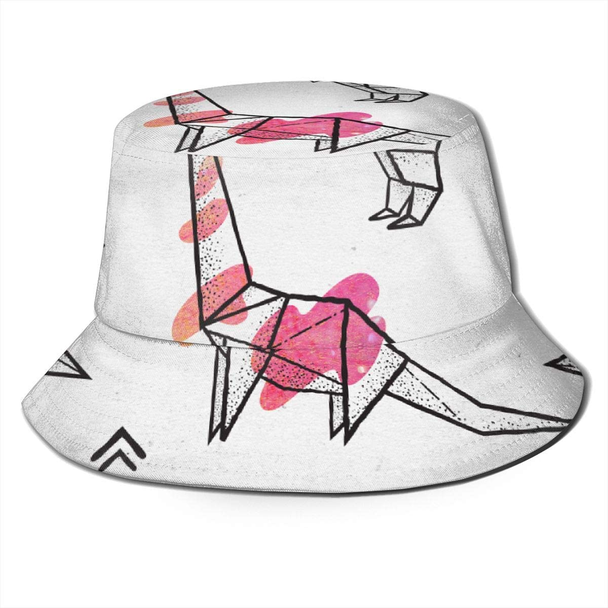Lightweight Snapback Hat for Unisex Mens and Womens 100/% Polyester Black Contour Origami Dinosaurs Mesh Cap