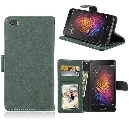 Amazon.com: Xiaomi Mi5 Funda, Xiaomi Mi 5 Phone Funda, Rivre ...