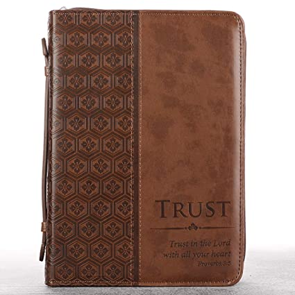 trust brown tile design bible book cover proverbs 35 medium