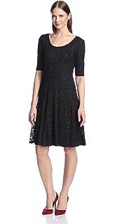 f728cc1e Amazon.com: Chetta B Women's A-Line Lace Dress: Clothing