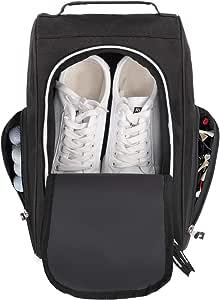 Yuar butee Golf Shoe Bag Shoe Storage Travel Organizer with Ventilation & Outside Pocket