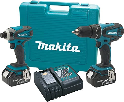 Makita XT211M 18V LXT Lithium-Ion 2-Pc. Cordless Combo Kit with Two 4.0Ah Batteries- Discontinued by Manufacturer Discontinued by Manufacturer