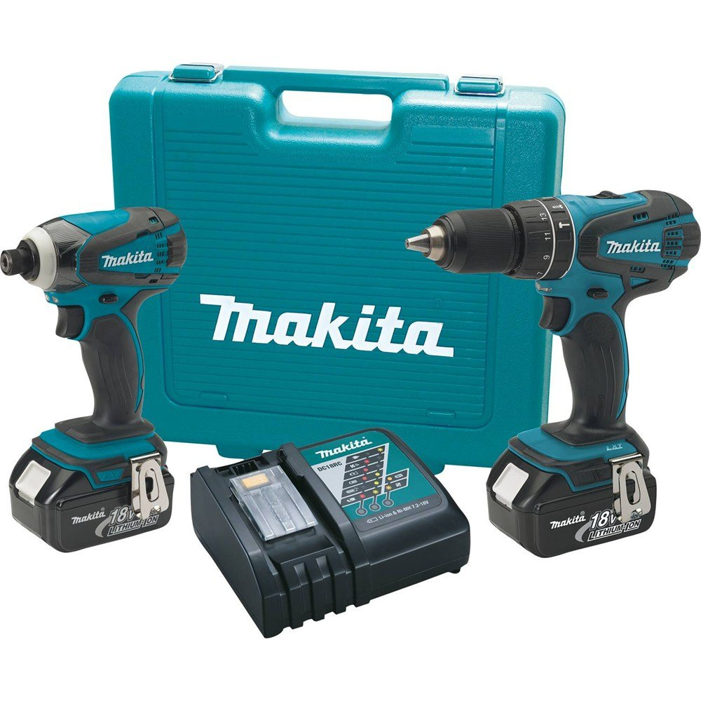 Makita XT211M 18V LXT Lithium-Ion 2-Pc. Cordless Combo