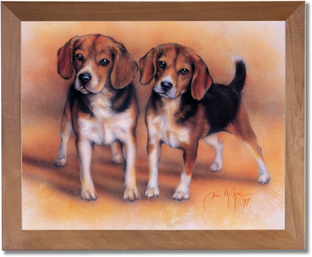 Dog Beagle Pet Canvas Print Painting Framed Home Decor Wall Art Picture Pic