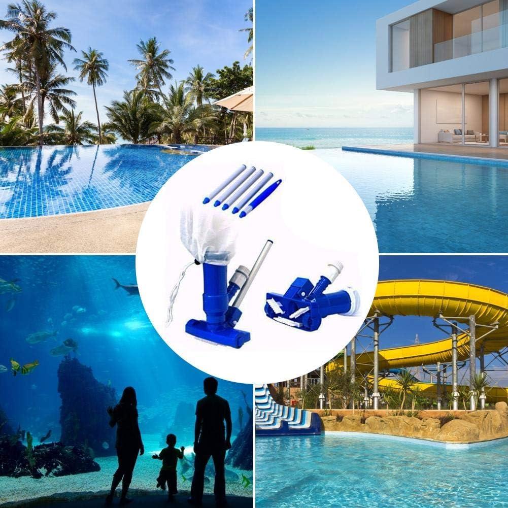 Mayyou Tubs Aspirateur /à jet pour piscine avec 5 sections de p/ôles