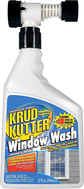 KRUD KUTTER WW32H4 Window Wash, 32 oz