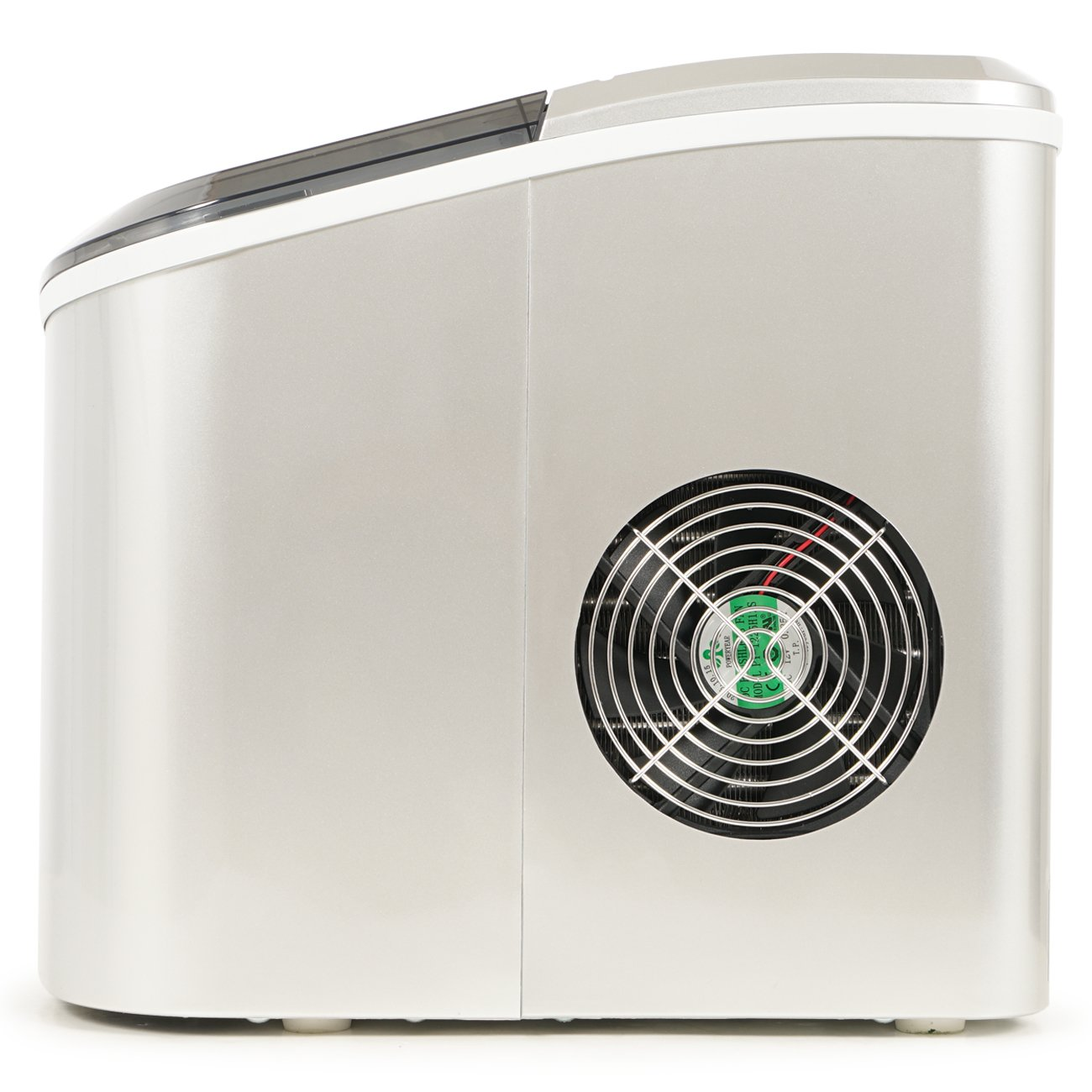 Red Yield Up To 26 Pounds of Ice Daily Della Portable Ice Maker w ...