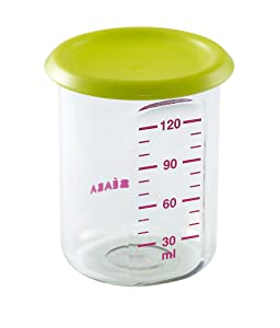 BEABA Portions Tritan Containers, Green,5oz