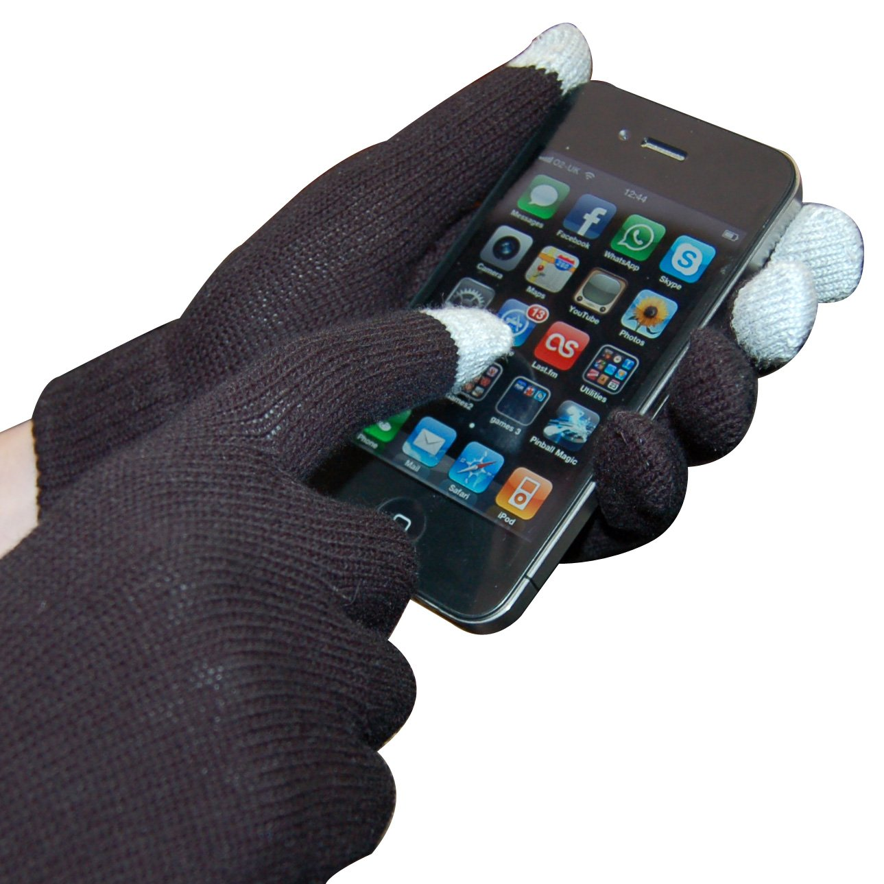 Mens gloves for smartphones - Amazon Com Dragonpad Smart Glove Touch Glove For Smartphone Retail Packaging Black Discontinued By Manufacturer Cell Phones Accessories