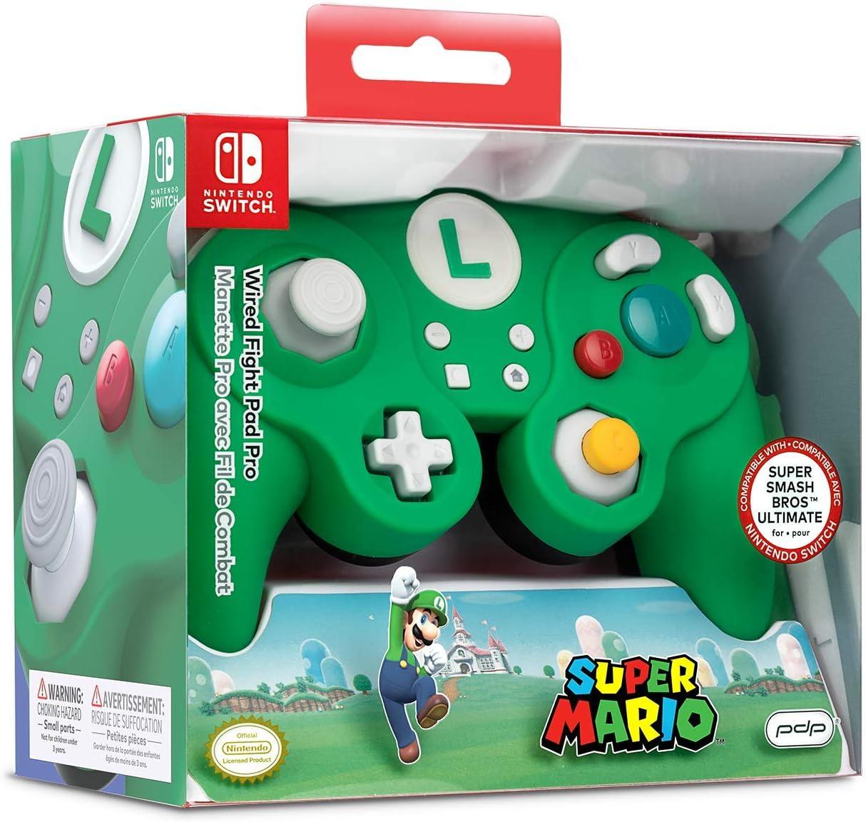 Nintendo Switch Luigi Wired Fight Pad Pro [ ] [Importación alemana]: Amazon.es: Videojuegos