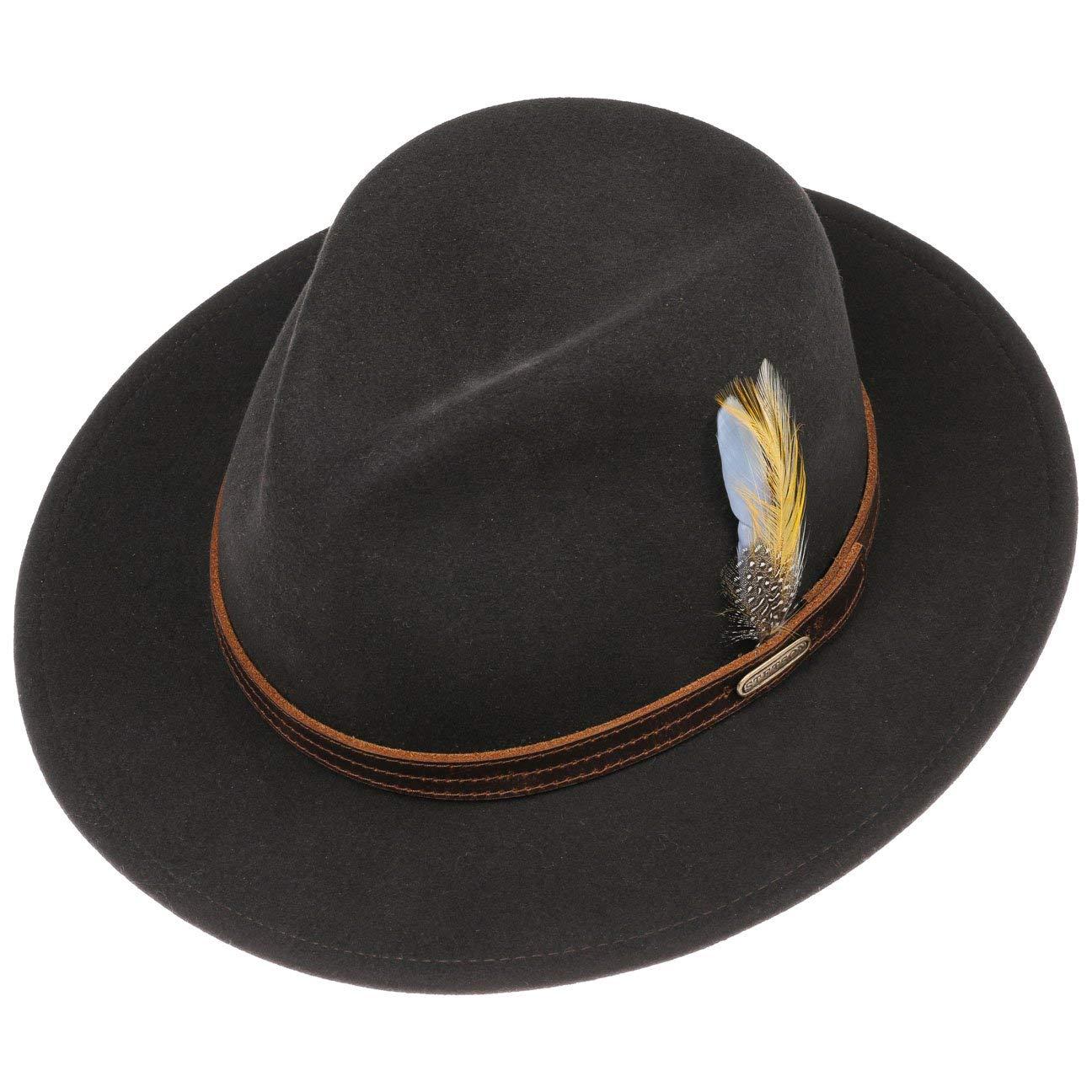 Made in USA Stetson Stampton Traveller VitaFelt Hat Men