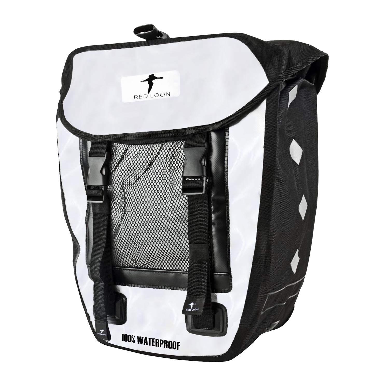 2 Stück Gepäckträgertasche Gepäcktasche Satteltasche Fahrradtasche LKW Plane