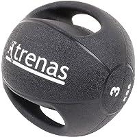 MUGAR Balon Medicinal Dos Tipos de 3 Kilos y 4 Kilos con Asas Laterales