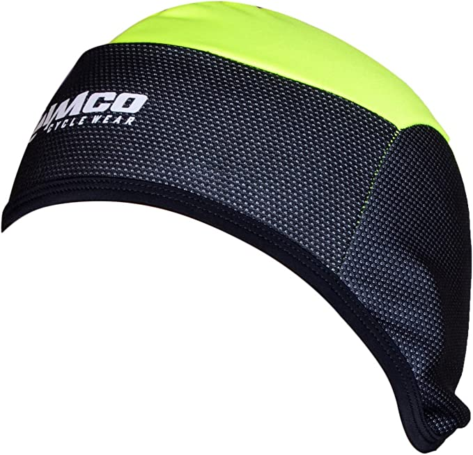 Cycling Skull Cap Bike Motorbike Under Helmet Thermal Windstoper Hat Black