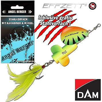 DAM Effzett Pike Rattlin´ Spinner Hechtköder Kunstköder alle Farben